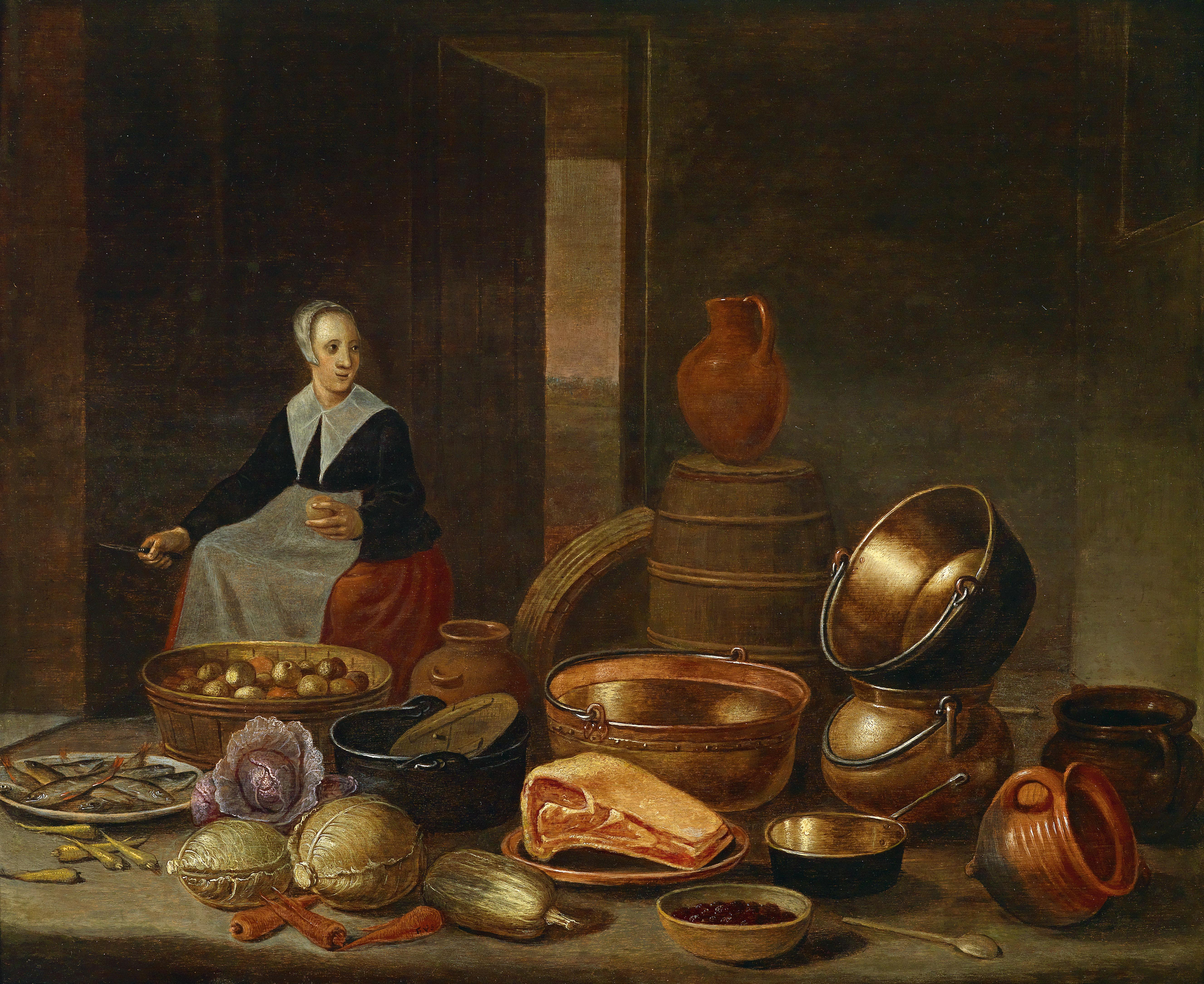 File:Floris van Schooten Kücheninterieur.jpg - Wikimedia Commons