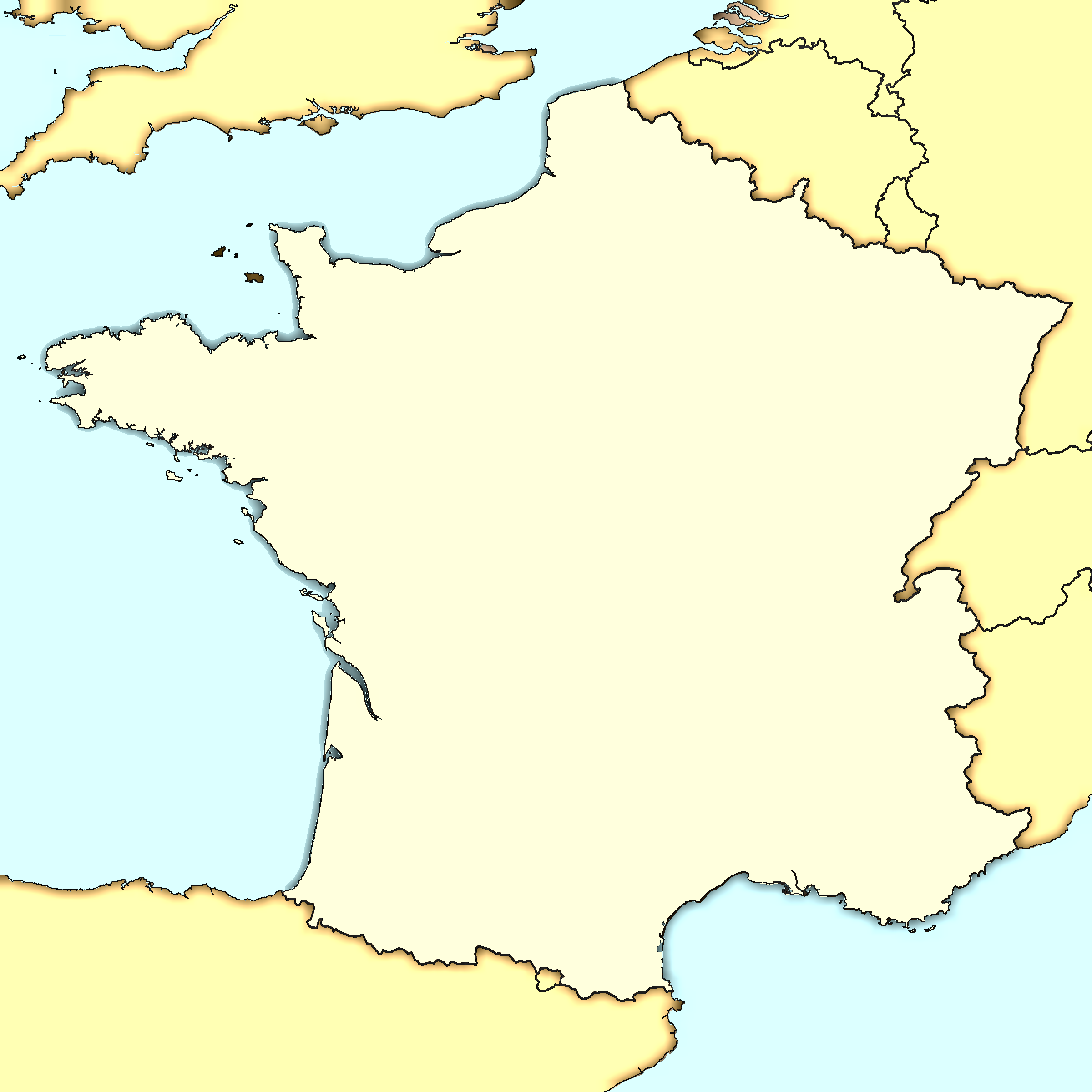 FileFrance Map Modernpng Wikimedia Commons - France map images blank