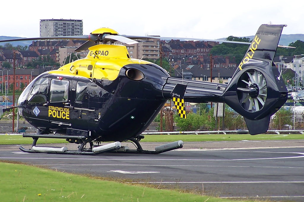 police radio and recordings and medical helicopter