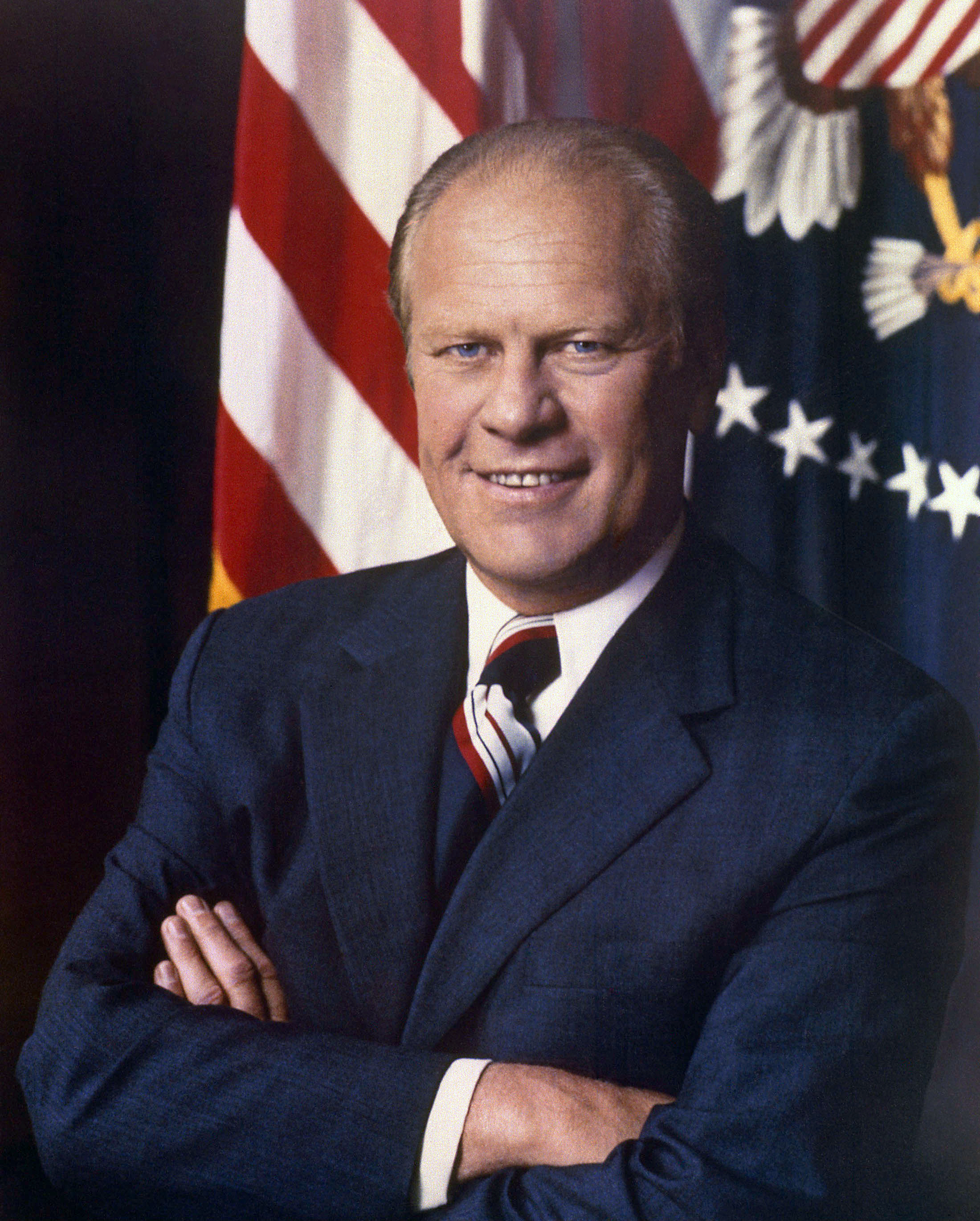 Presidential portrait of Ford, 1974