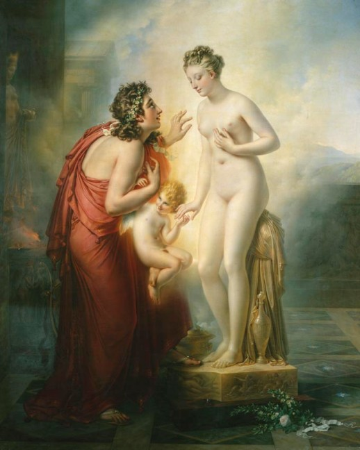 Pymalion forelsket i sin statue