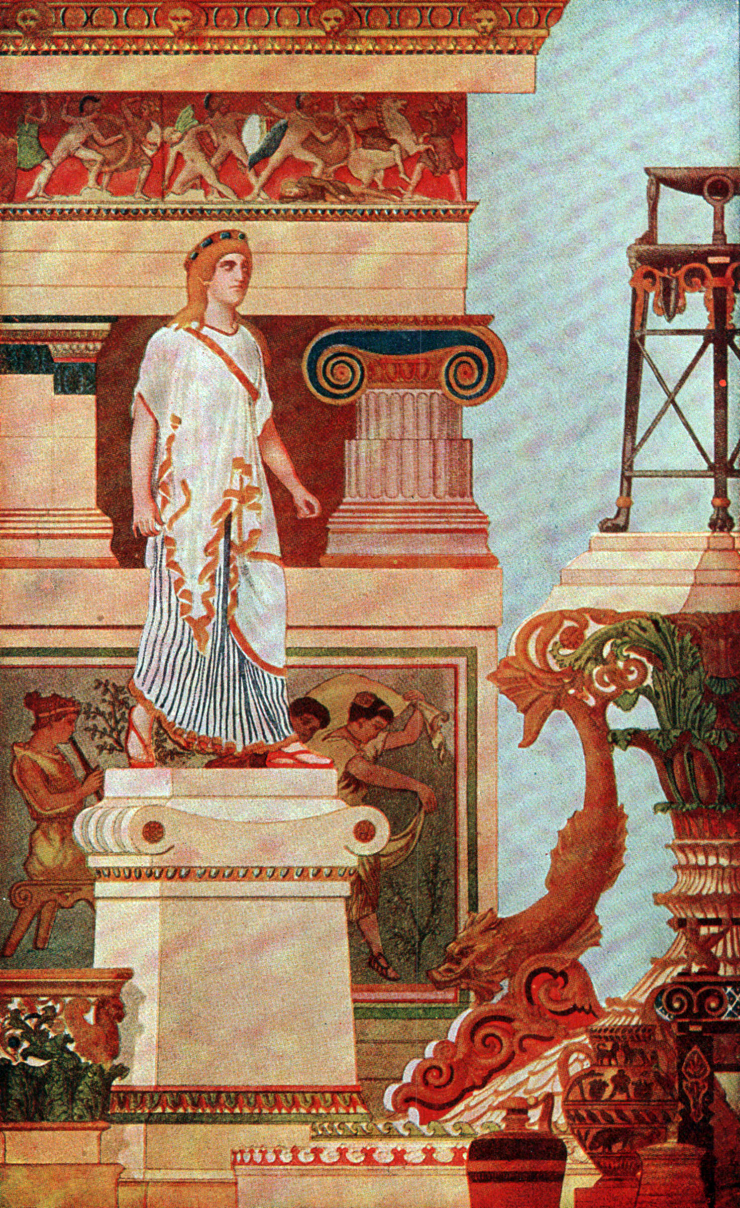 art of ancient greece Video: art of ancient greece's classical period in this lesson, you will explore the artistic achievements of the greek classical period and discover how these changes affected western art then.
