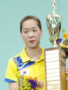 Ha Jung-eun Badminton player