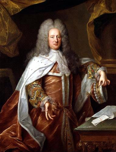 Alexis Simon Belle: Henry St John, 1st Viscount Bolingbroke