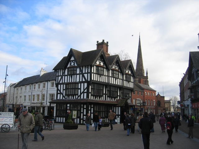 Hereford Market Place - geograph.org.uk - 552390