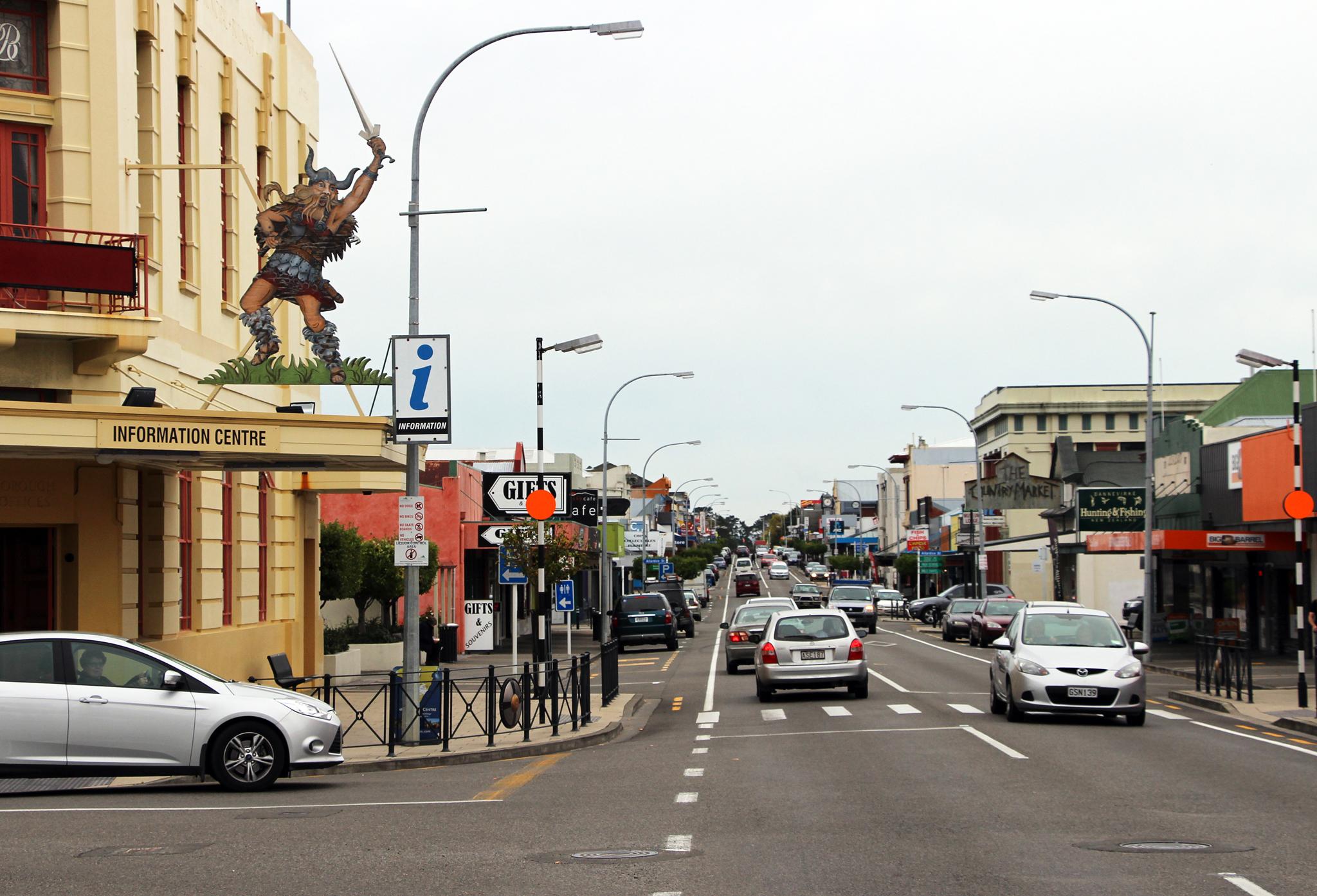 Dannevirke på New Zealand