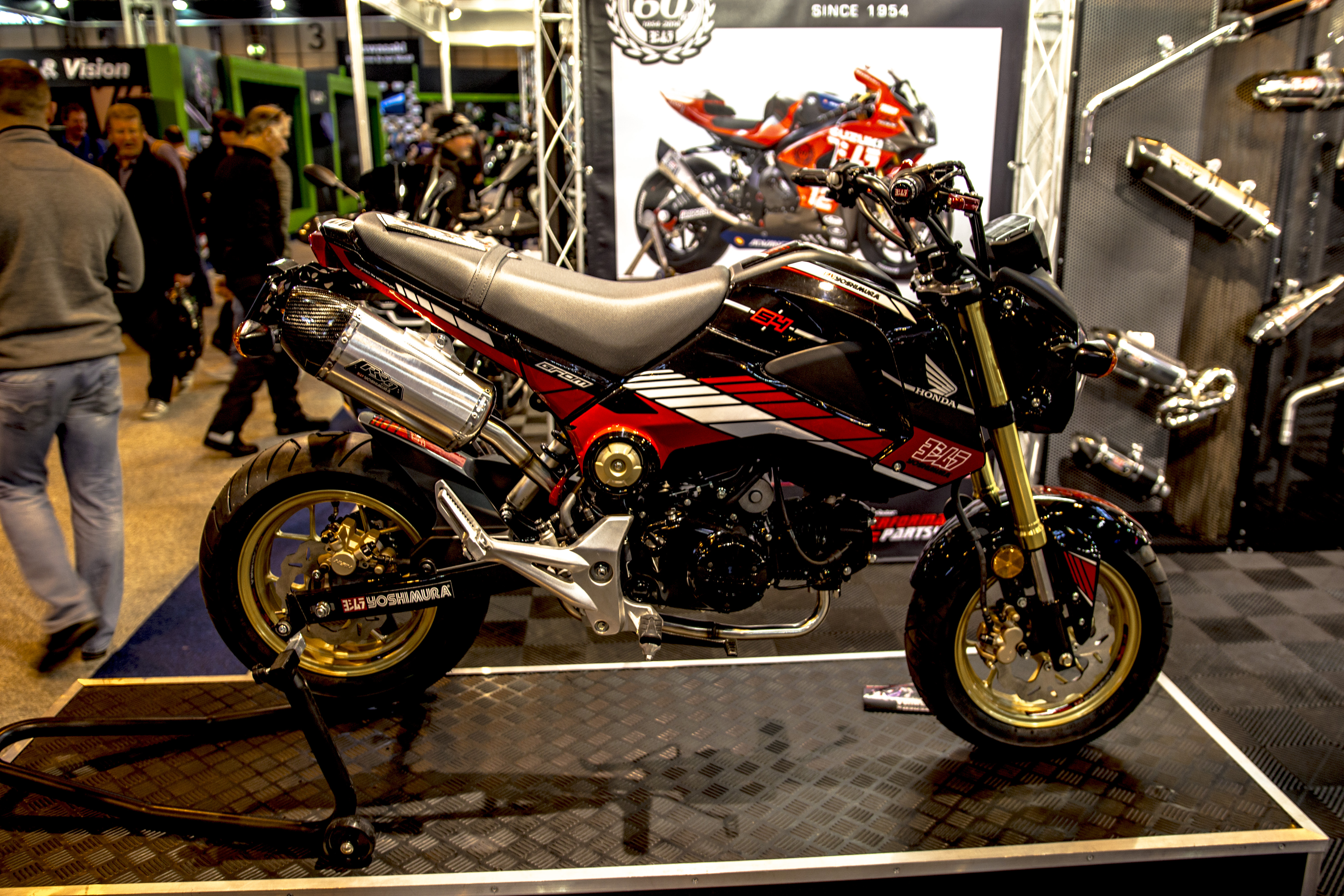 file honda grom 125 at birmingham wikimedia commons. Black Bedroom Furniture Sets. Home Design Ideas