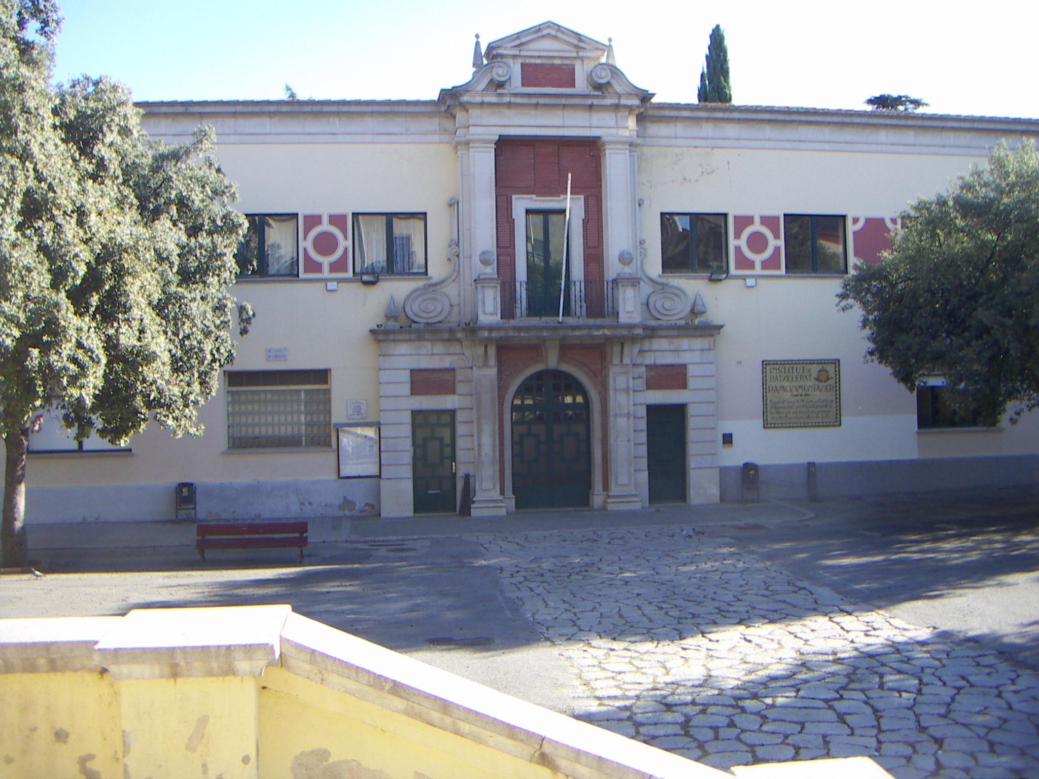 Institut d'ensenyament secundari Ramon Muntaner a Figueres