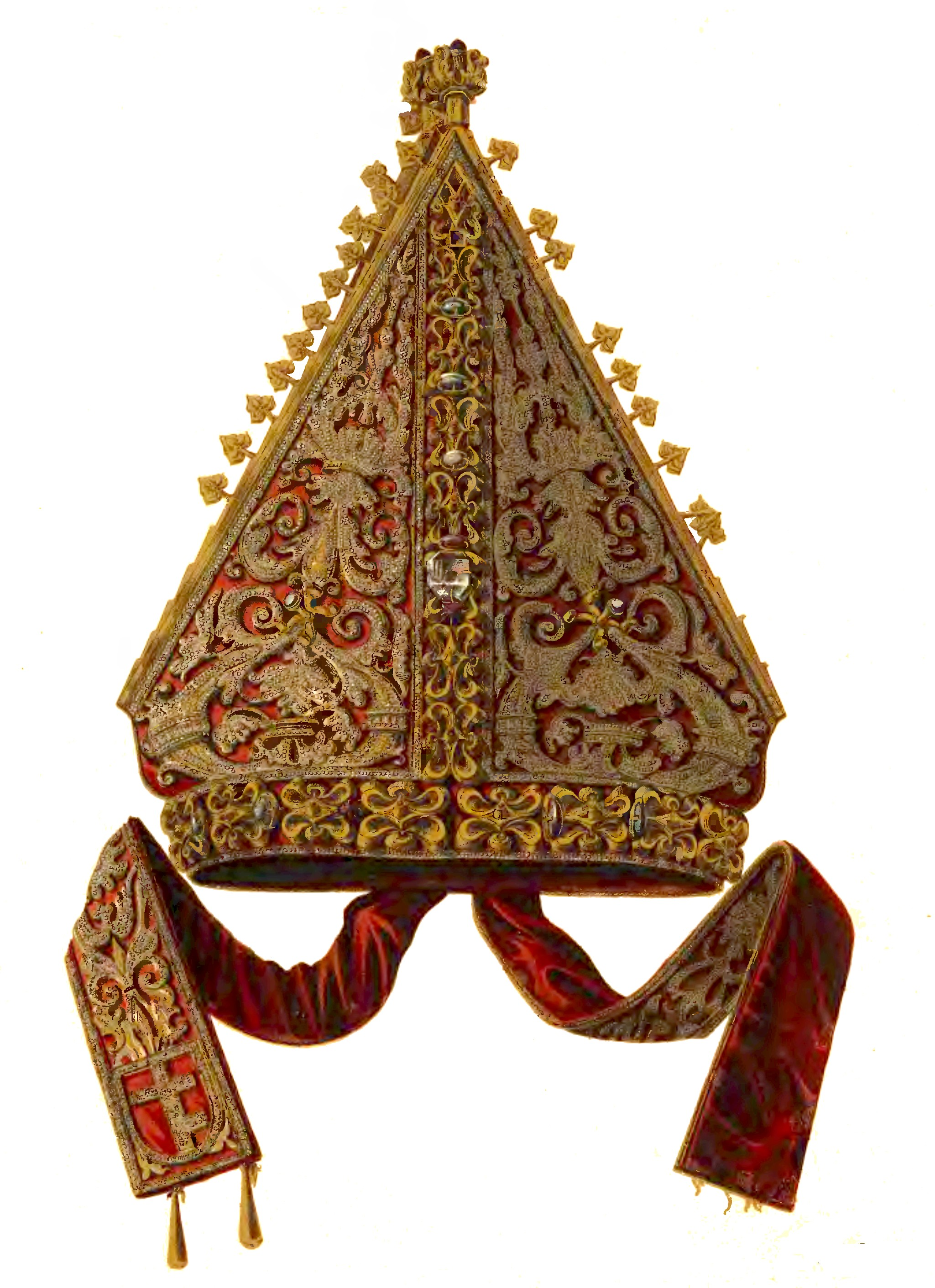 Papst Mitra