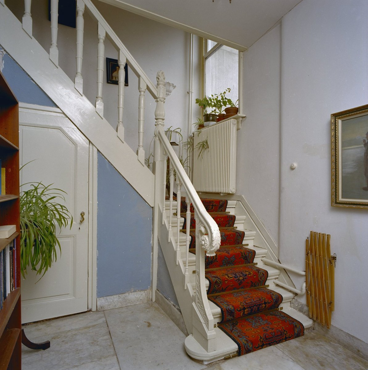 File interieur hal trap datering eind 18e eeuws vermaakt in 19e eeuw noordwijk binnen - Model interieur trap ...