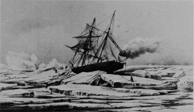 the most dangerous northwest passage Isabel_caught_in_the_ice_pack