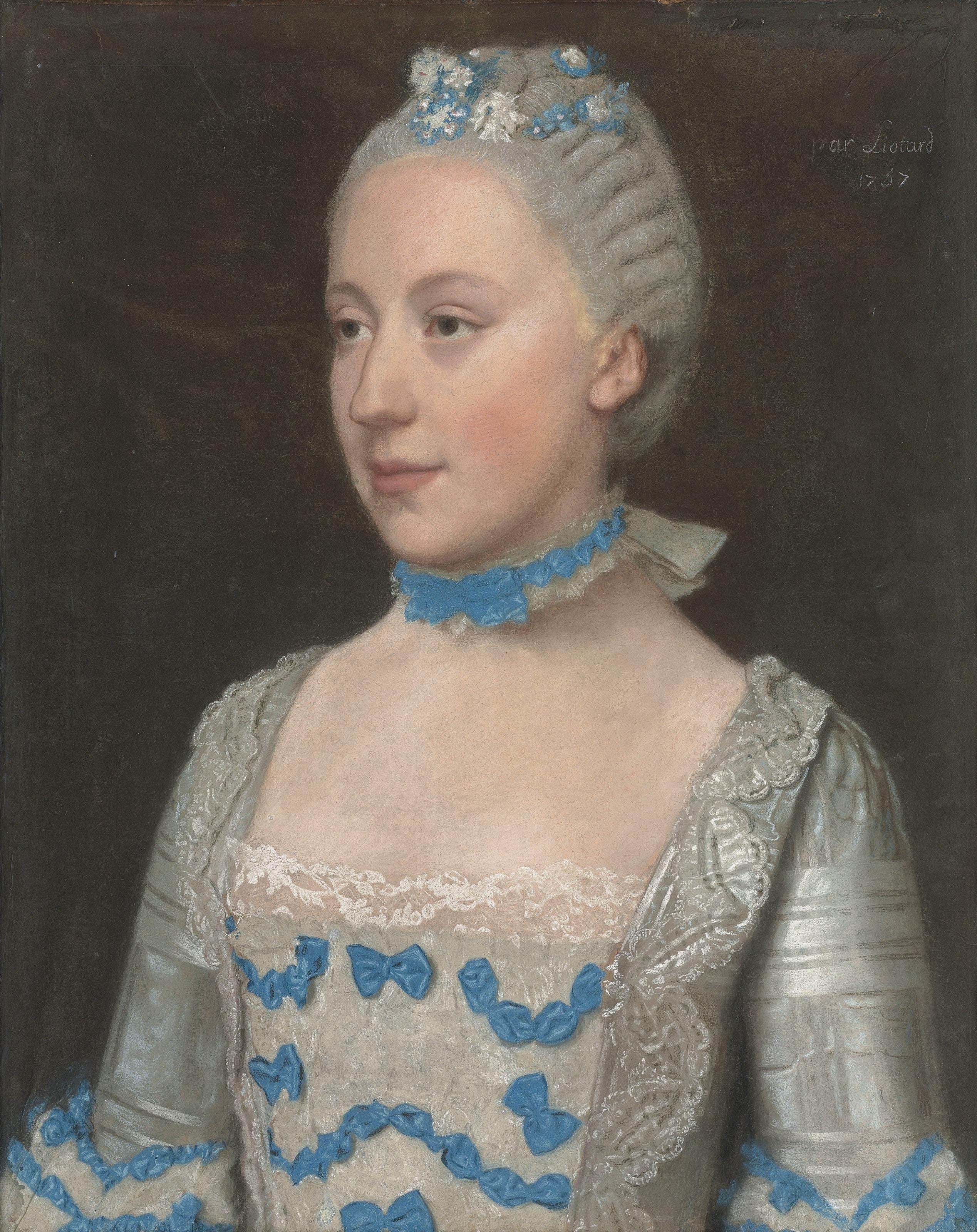 File Jean-Étienne Liotard - Portrait de Madame Saint-Pol, demi ... b9f62b8513b0