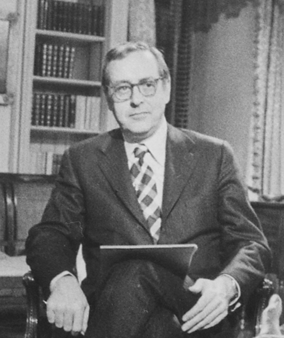 Chancellor at the White House in 1970