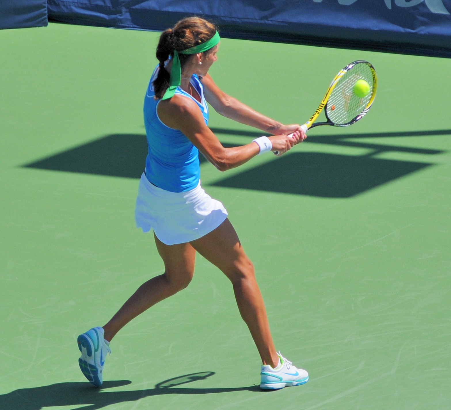 a scientific analysis of the backhand stroke in tennis The science of tennis technique is explained in this guide that practically applies the lessons learned from studying the forces and motions of tennis strokes.