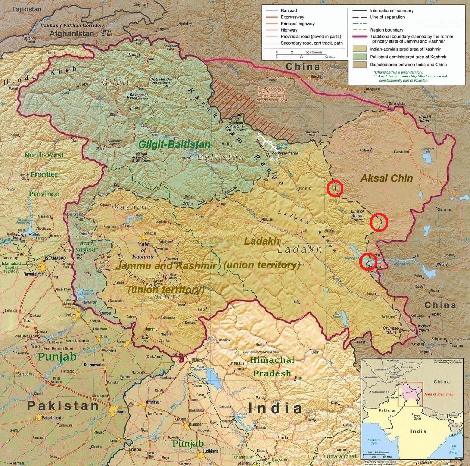 2020 China–India skirmishes - Wikipedia