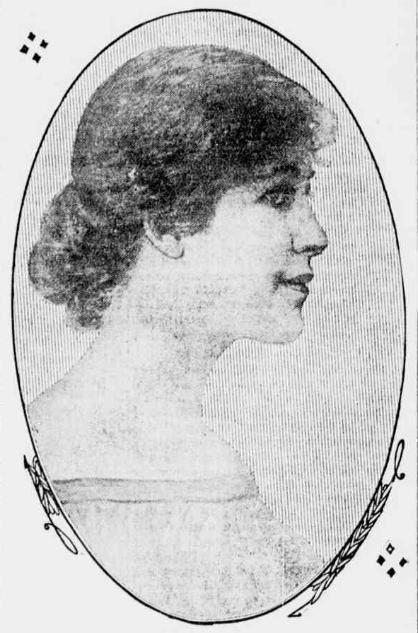 Letta Setter Hollingsworth<br/>February 1915