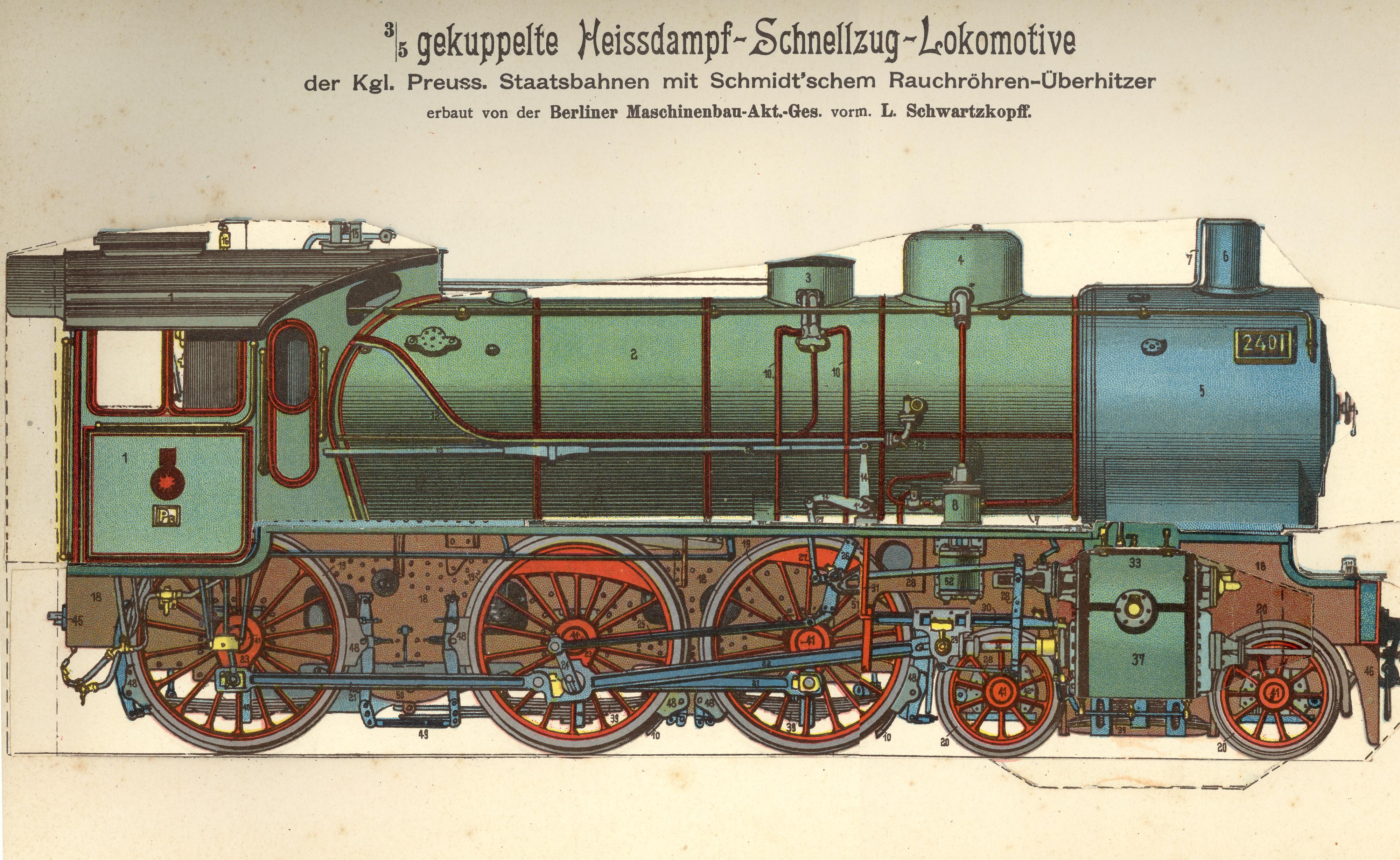 Dampflokomotive –