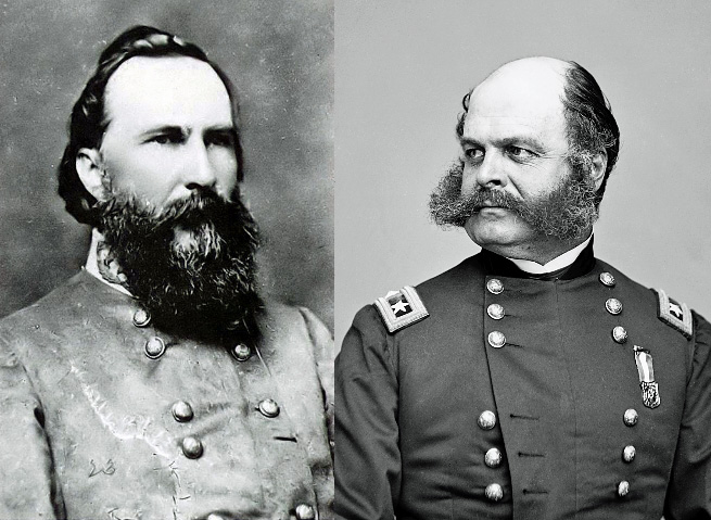 the contributions of thomas stonewall and james longstreet in the civil war