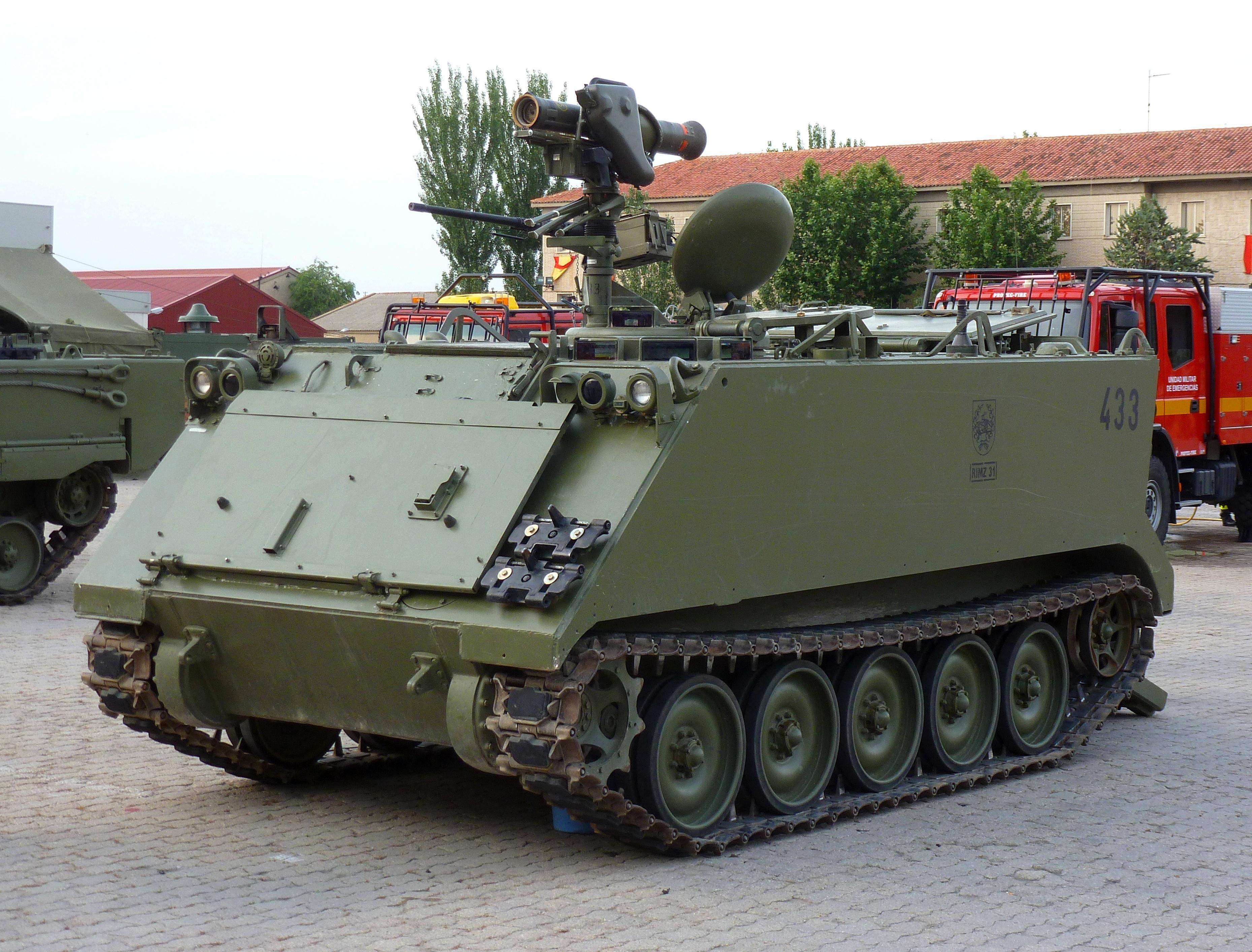 Army Tank For Sale Usa >> File:M-113 MILAN Ejército Español.JPG - Wikimedia Commons