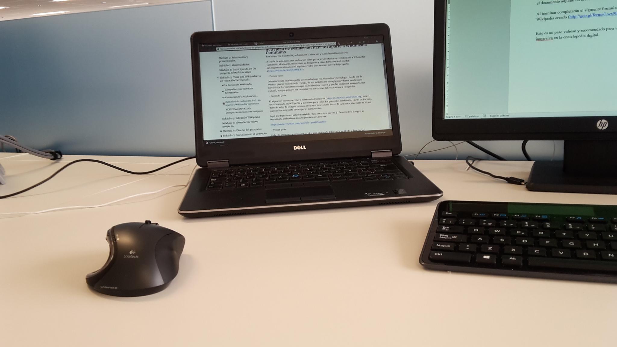 File mi escritorio de wikimedia commons - Escritorio de trabajo ...