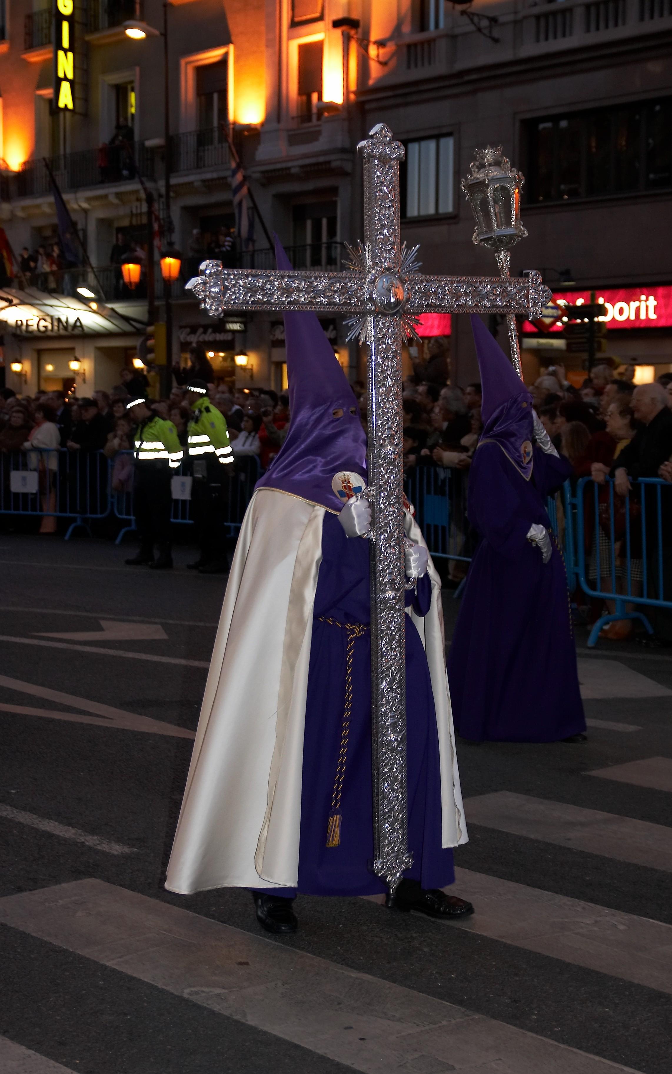 Depiction of Semana Santa en Madrid