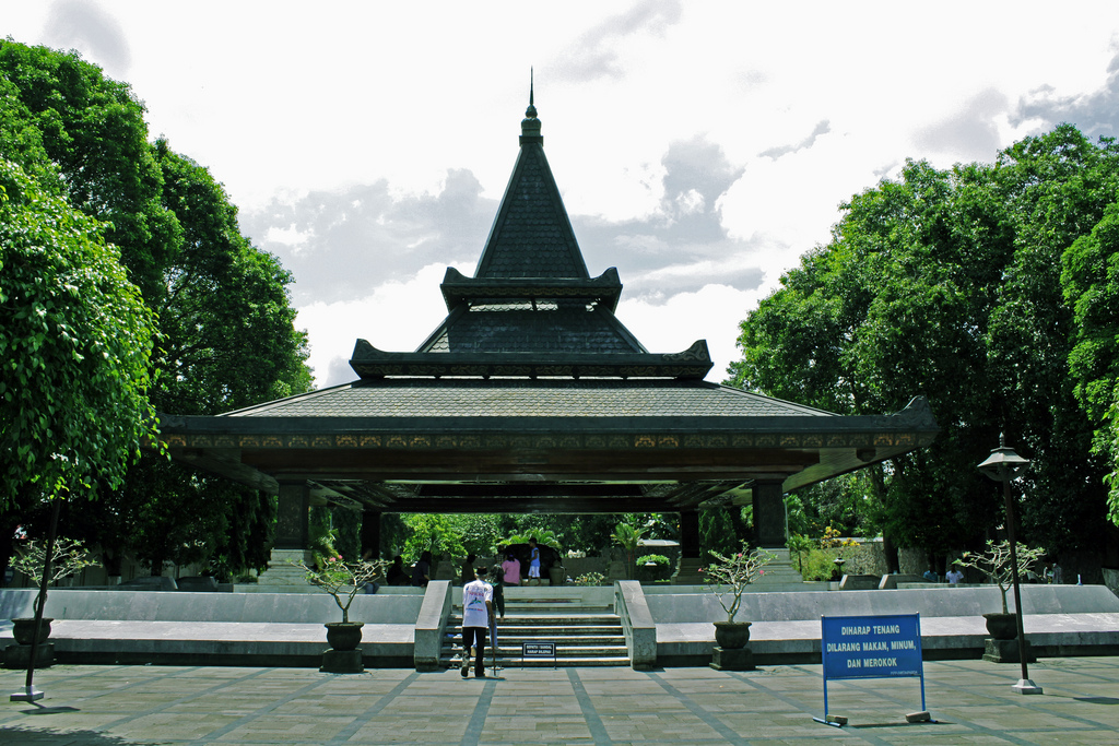 Makam Ir Soekarno. Tempat Terakhir Beliau Beristirahat Tenang. Dan Di Doakan Banyak Orang.