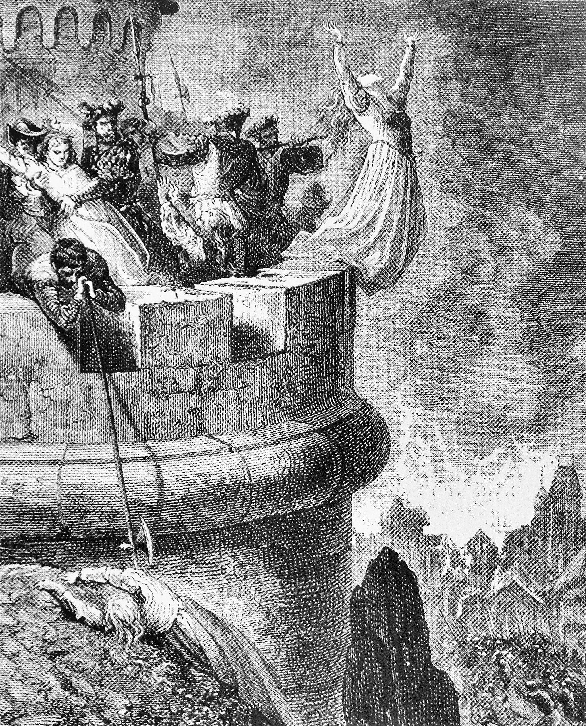 Massacre of the Waldensians of Mérindol in 1545.