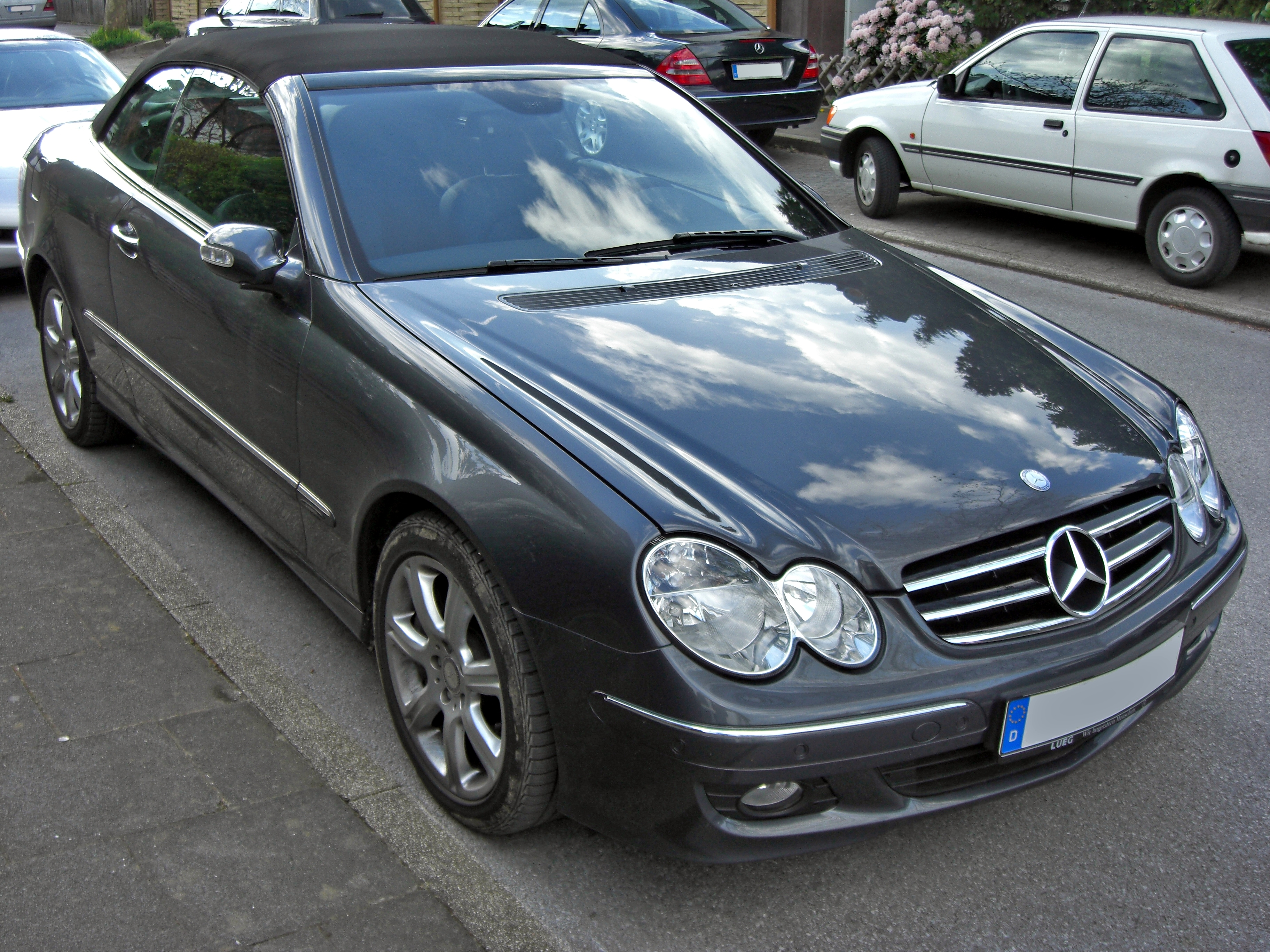 file mercedes clk 320 cdi facelift wikimedia. Black Bedroom Furniture Sets. Home Design Ideas