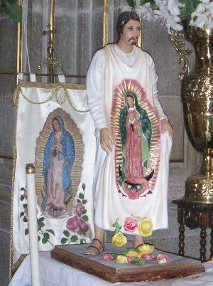 Mexico.SanJuanDiego.statue