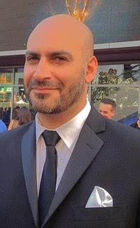 Michael Benyaer at the Emmy's.jpg
