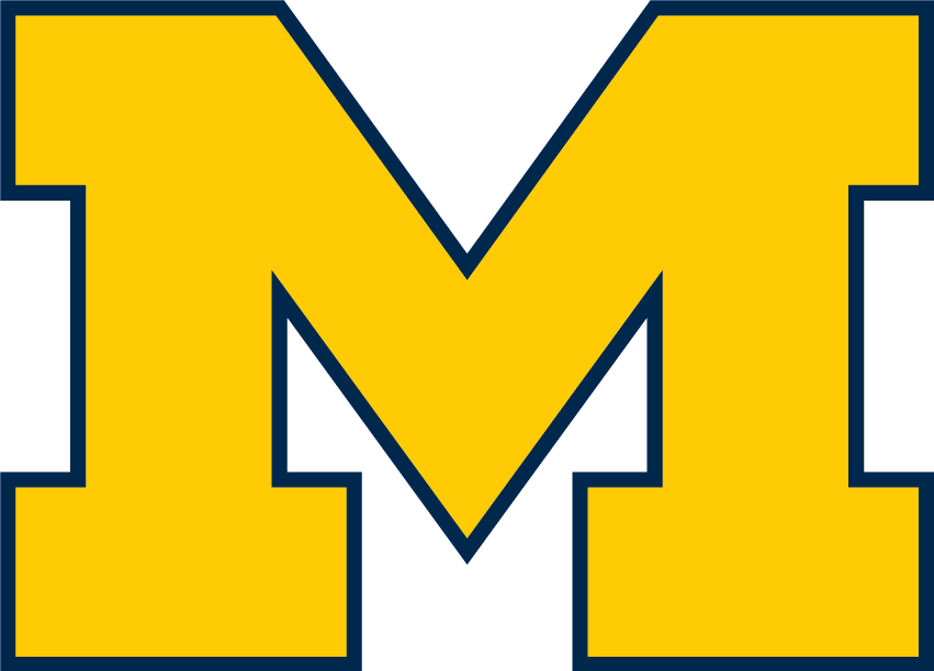 File:Michigan Wolverines Block M.png