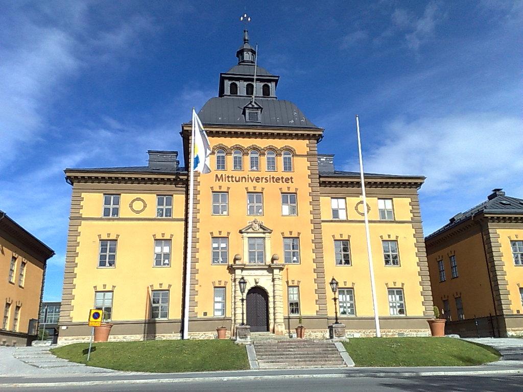 Mid Sweden University Wikipedia - Mid sweden university map