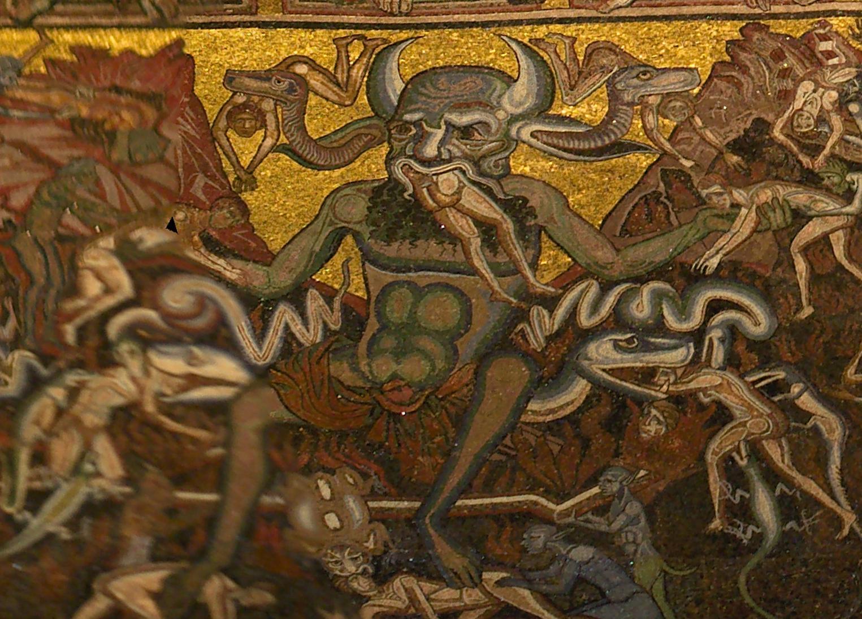 File:Mosaici del battistero, inferno 03 satana.jpg ...