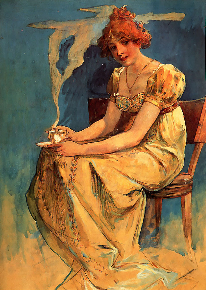 http://upload.wikimedia.org/wikipedia/commons/3/36/Mucha-Untitled_%28seated_woman_with_coffee_cup%2C_watercolor%29.jpg