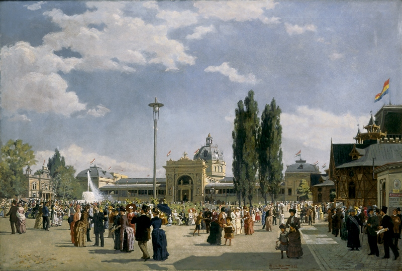 Nádler National Exhibition in Budapest in 1885