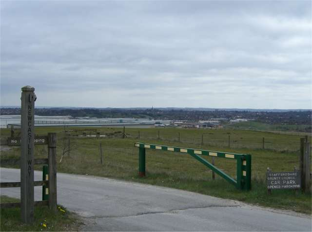 Newcastle Way at Apedale Country Park - geograph.org.uk - 394454