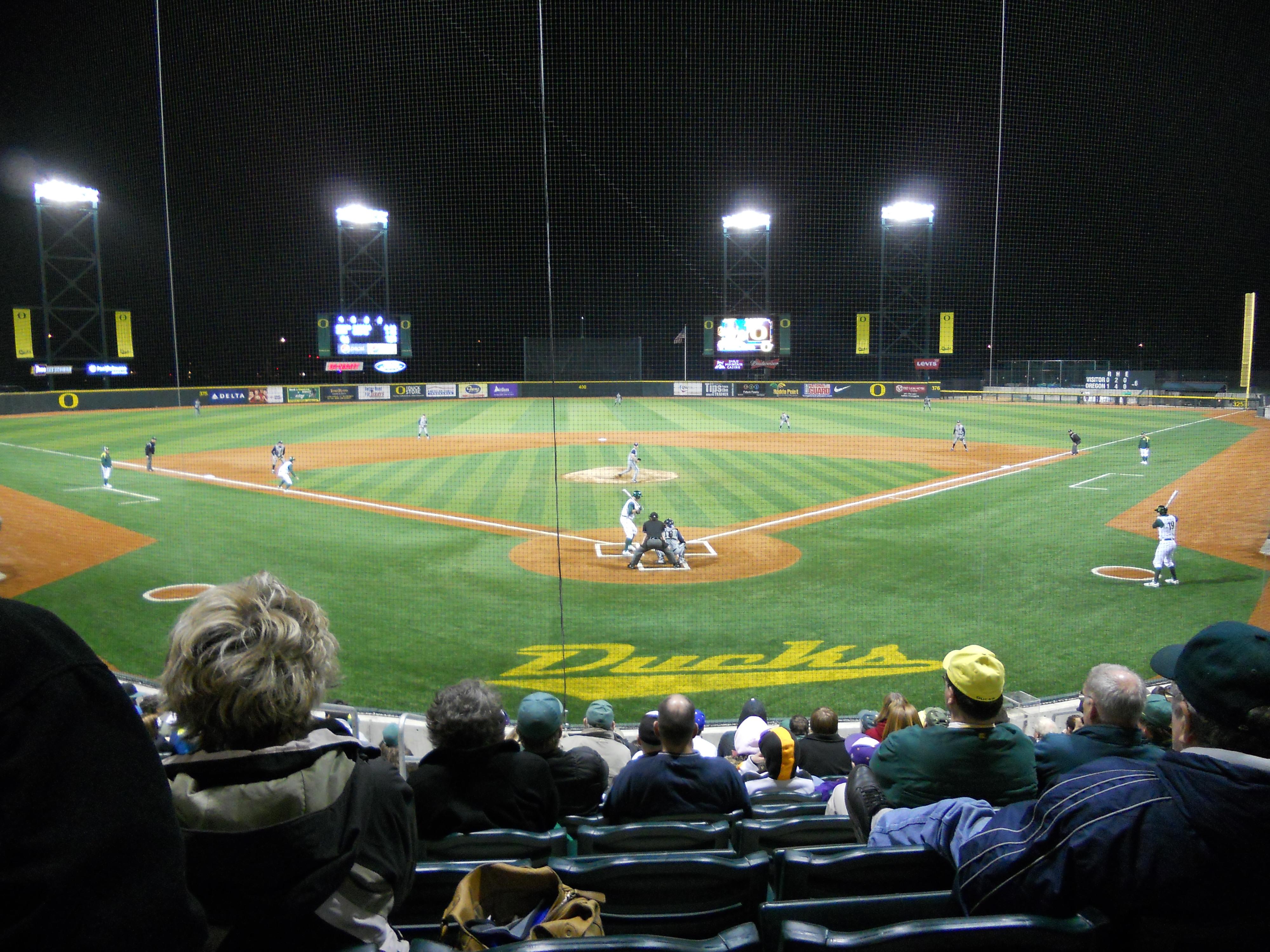 File:Oregon Ducks baseball game.JPG - Wikimedia Commons