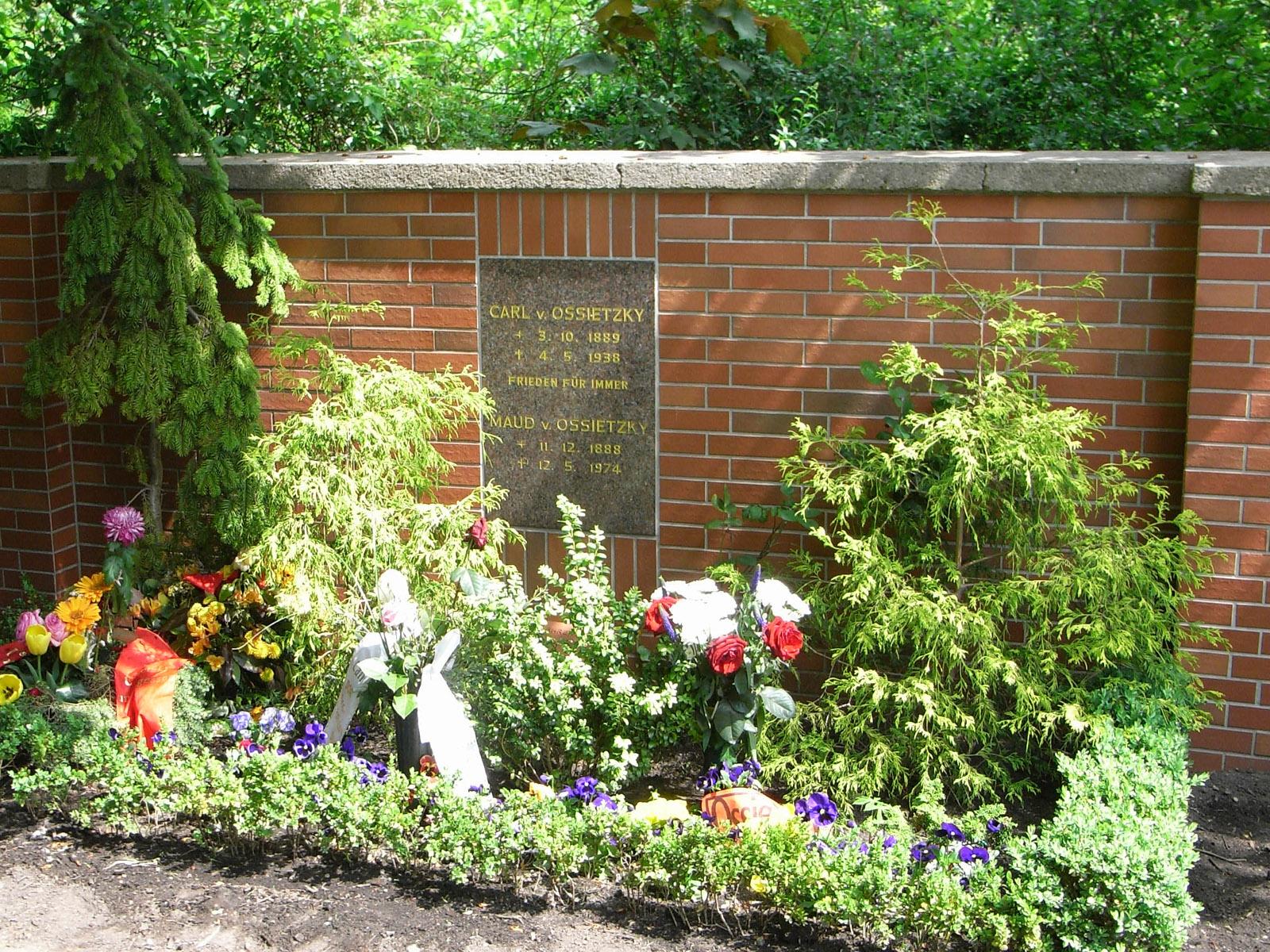 Grab von Carl von Ossietzky