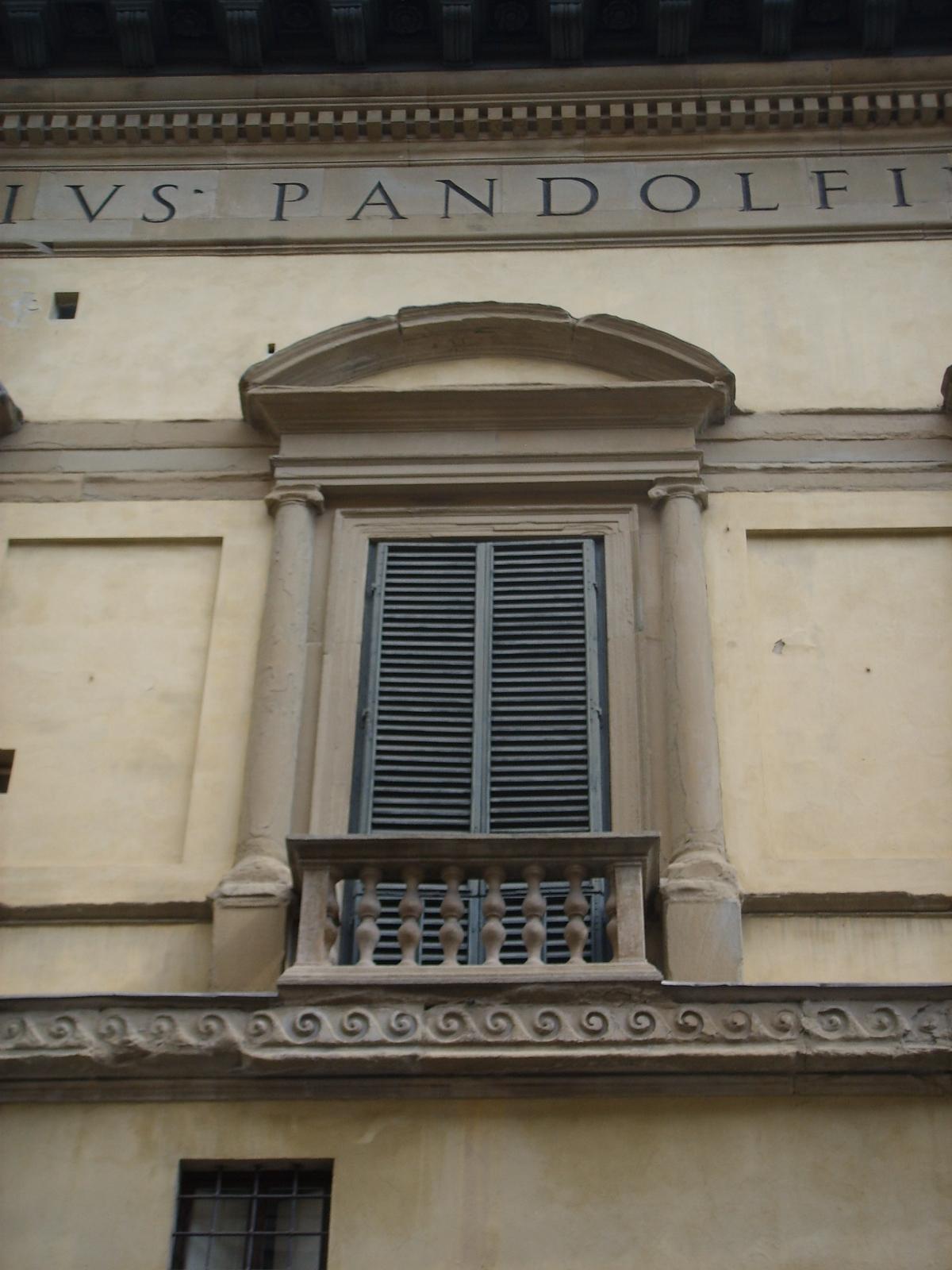 palazzo pandolfini florence italy designed between 1513 1514 by raphael construction begun. Black Bedroom Furniture Sets. Home Design Ideas