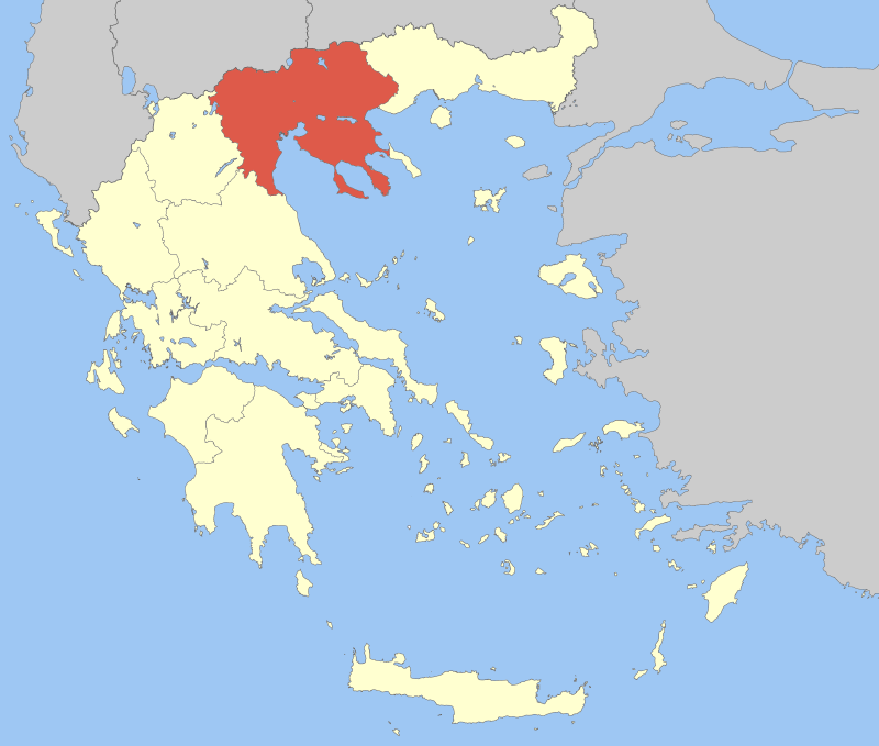 Depiction of Macedonia Central