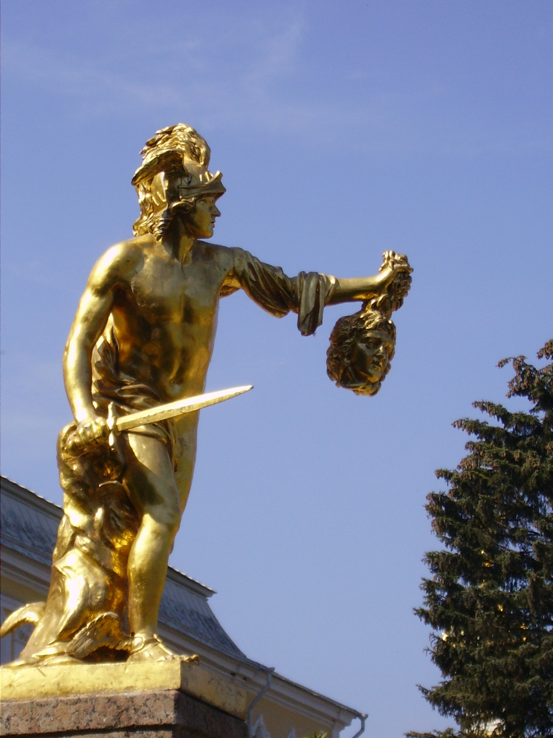 File Perseus With The Head Of Medusa Grand Cascade Of