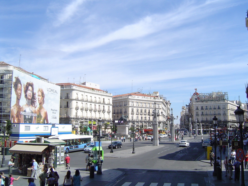 Puerta Del Sol - Attractions/Entertainment - Plaza de la Puerta del Sol, Madrid, Comunidad de Madrid, 28013