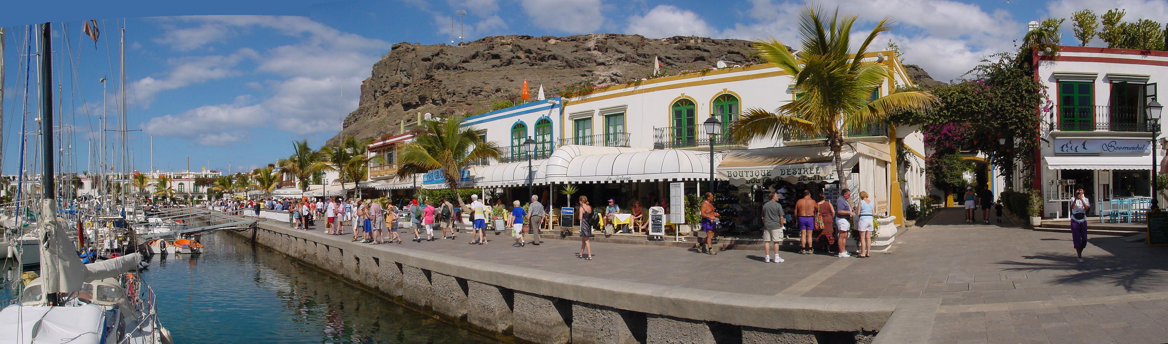 File puerto de wikimedia commons - Puerto mogan gran canaria ...