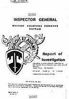 ロバート・モレヘッド・コック(英語版)米陸軍大佐が監察官として作成した虐殺事件の報告書(1970年1月10日)[1]