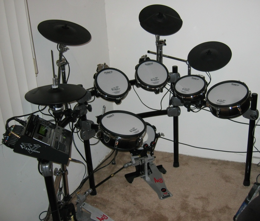 roland v drums wikipedia. Black Bedroom Furniture Sets. Home Design Ideas