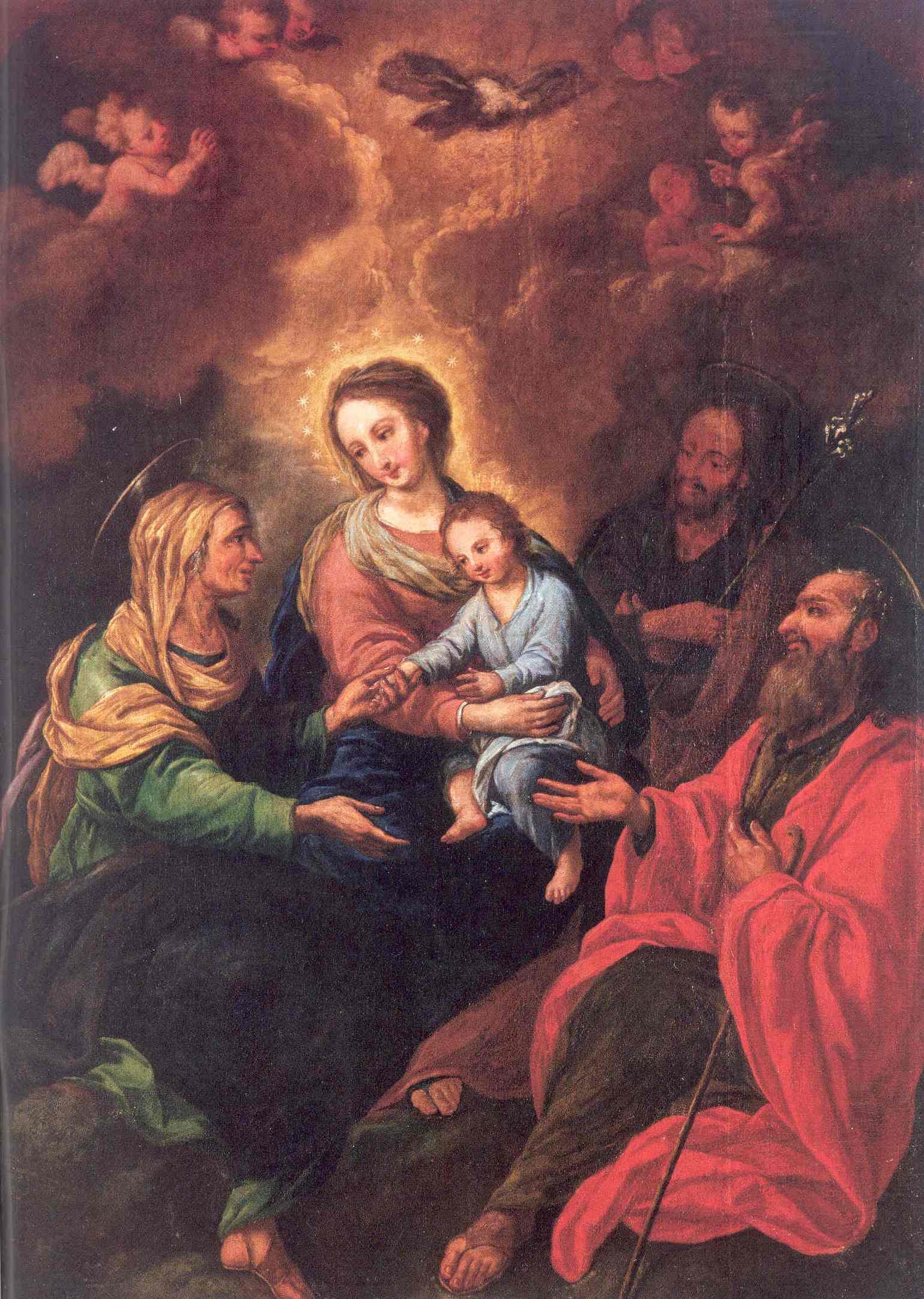Sagrada Família amb sant Joaquim i santa Anna - Viquipèdia, l ...