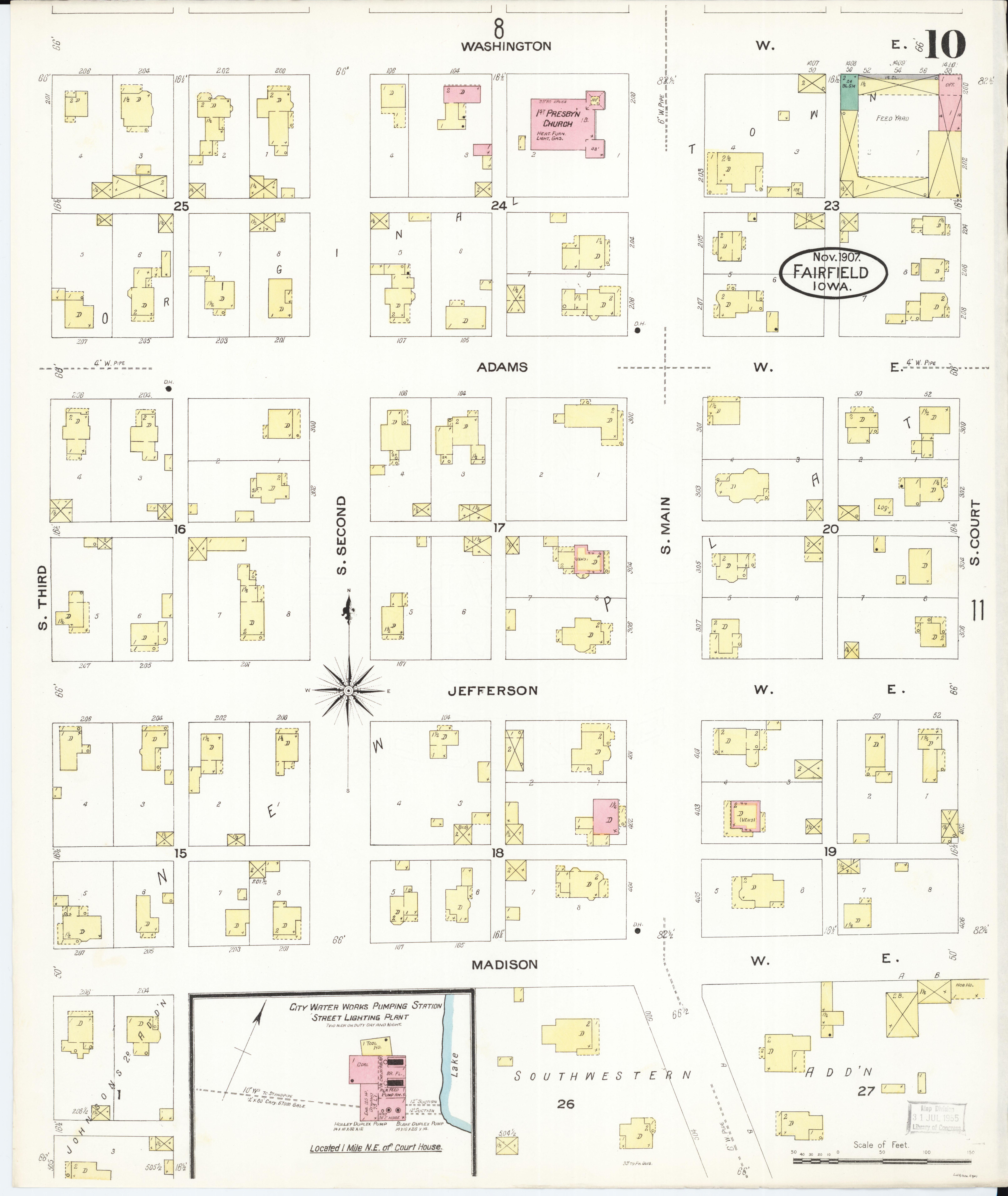 File Sanborn Fire Insurance Map From Fairfield Jefferson County