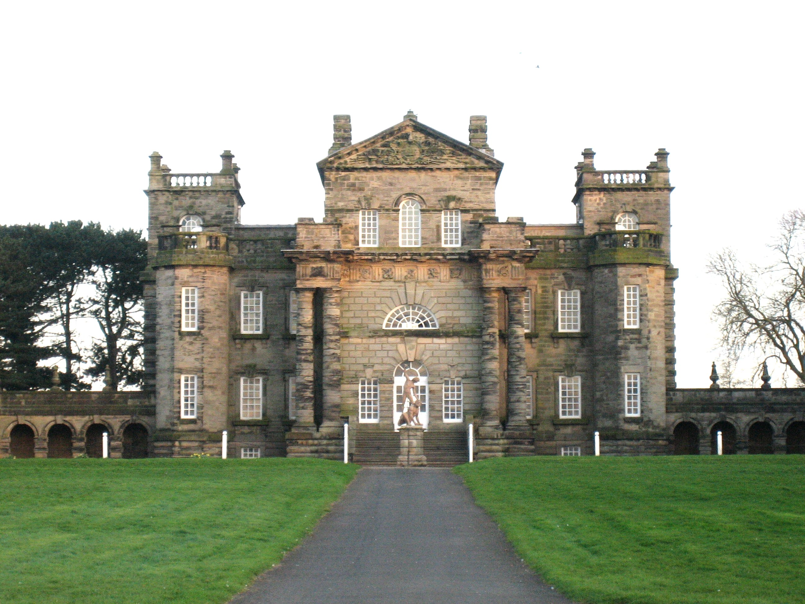 File seaton delaval hall main block from for English baroque architecture