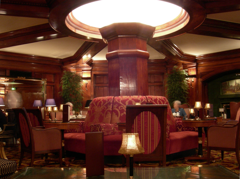 Sorrento Hotel Seattle Fireside Room