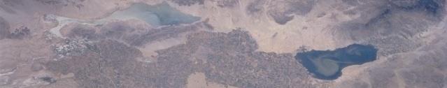משמאל לימין לגונה סלאדה, עמק מקסיקלי, עמק אימפריאל, ימת סלטון ועמק קואצ'לה